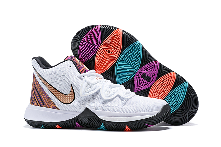 Kids Nike Kyrie 5 The Black Month Shoes
