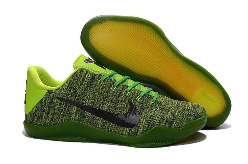 Kobe 11 Elite Low Jassmine Green Black Electric Green