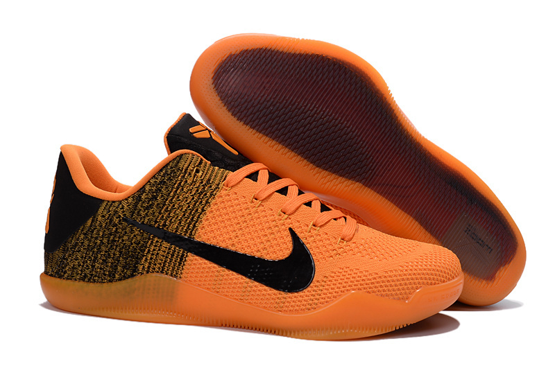 Kobe 11 Elite Low Neno Orange Black Total Orange