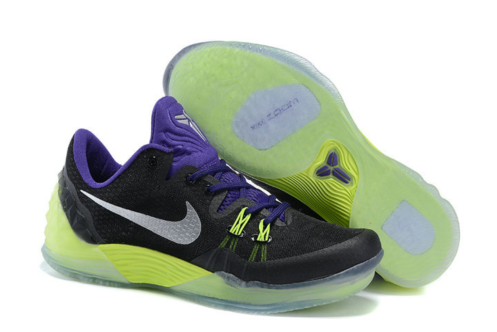 Kobe Venomenon 5 Black Blue Yellow 815757 005