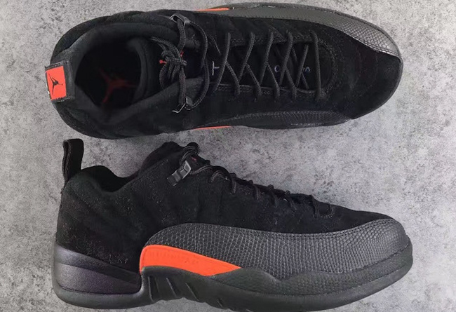 Latest Jordan 12 Retro Low Max Orange Shoes