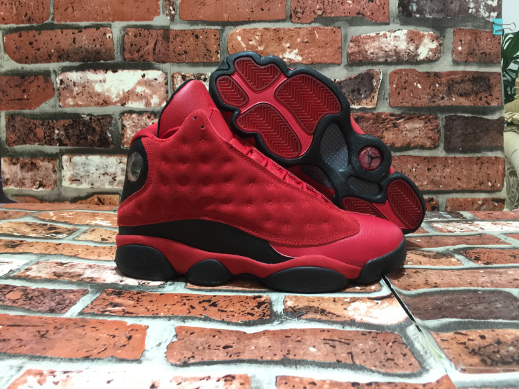 Latest Jordan 13 Retro Wings Red Black Shoes