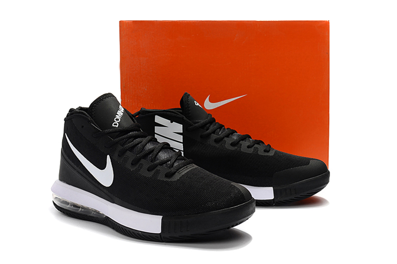 Men 2018 NIKE AIR MAX DOMINATE EP Black Whote Shoes
