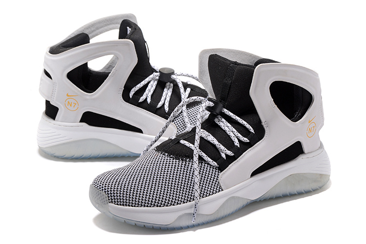 Men Nike Air Flight Huarache White Grey Black Shoes