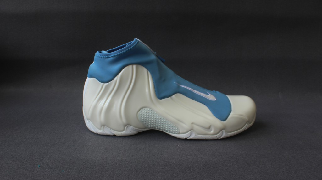 Men Nike Air FlightPosite White Baby Blue