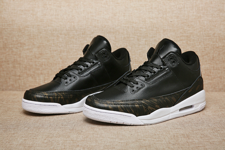 Men Air Jordan 3 Gold Medal Shoes