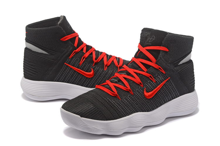 Men Nike Hyperdunk 2017 Black Red White Shoes