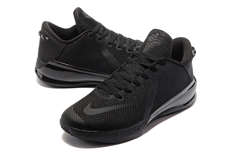 Men Nike Kobe Venomenon VI All Black Shoes