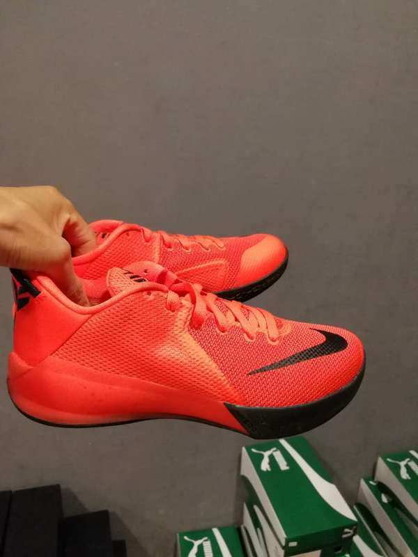 Men Nike Kobe Venomenon VI Red Black Shoes