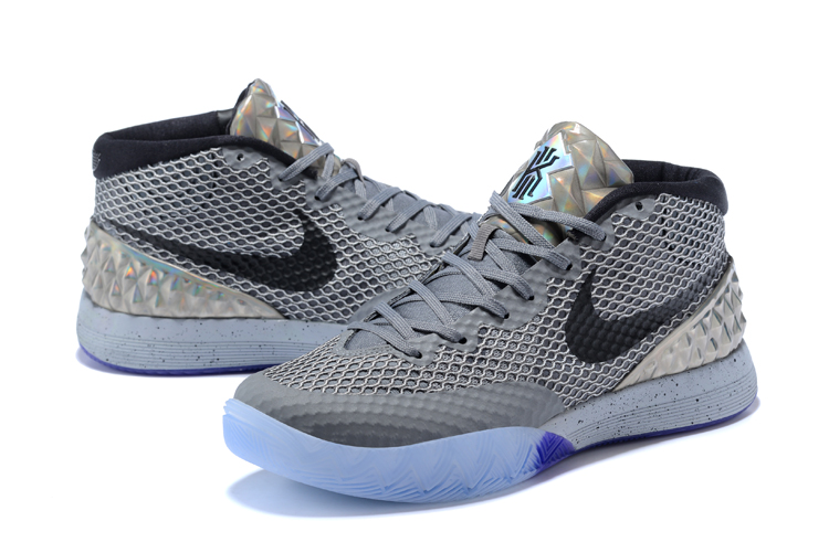 Men Nike Kyrie 1 Wolf Grey Basketball Shoes