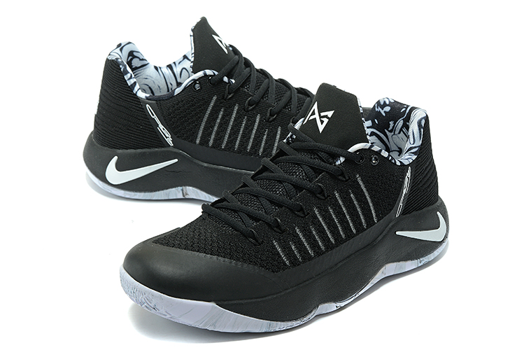 Men Nike PG 2 Black Grey Basketball Shoes