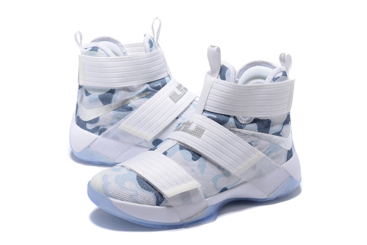 Men Nike Zoom Soldier X Camo White Shoes