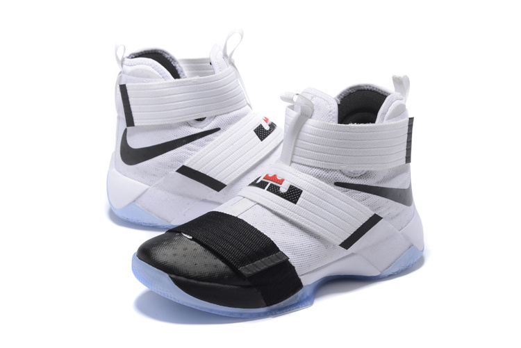 Men Nike Zoom Soldier X White Black Blue Shoes