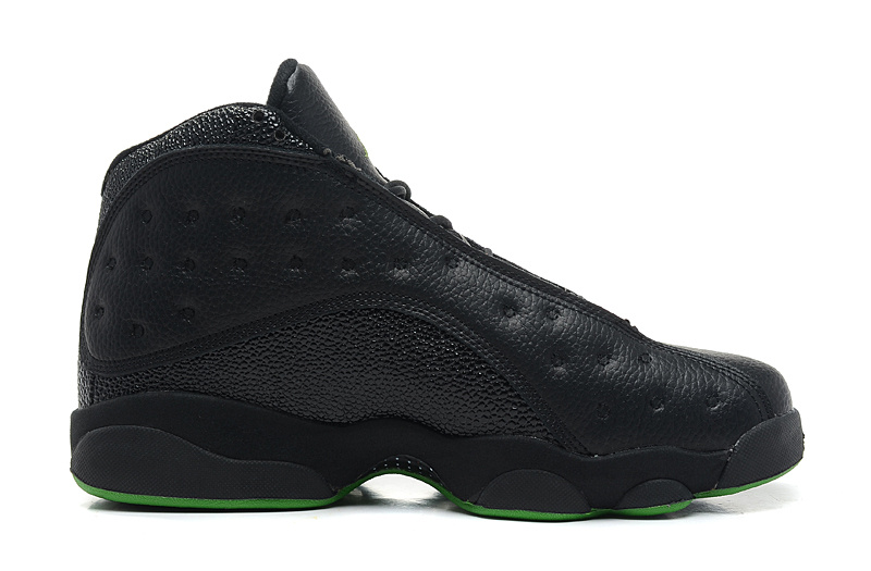 Air Jordan 13 Retro Altitudes Black Altitude Green