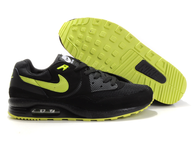 Mens Nike Air Max 89 Trainers Yellow/Black