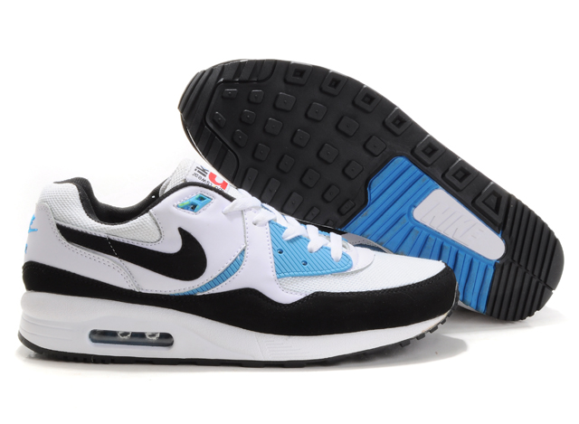 Mens Nike Air Max 89 Trainers White/Grey/Blue
