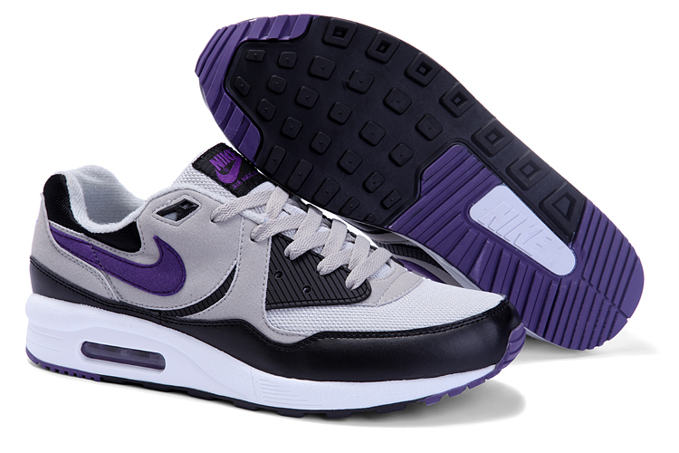 Mens Nike Air Max 89 Trainers Purple/Black/White