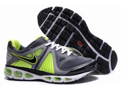 Mens Nike Air Max 2010 Trainers FluorescenceGreen/Black