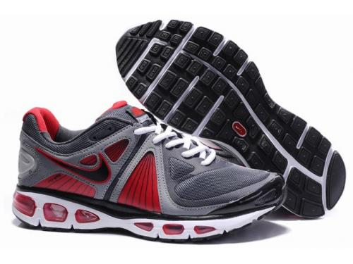 Mens Nike Air Max 2010 Trainers Black/Red