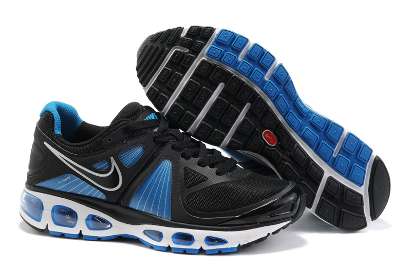 Mens Nike Air Max 2010 Trainers Blue/Black