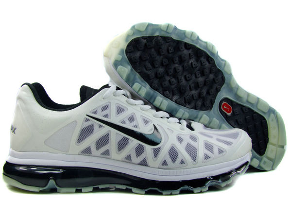 Mens Nike Air Max 2011 Trainers Ivory/Black