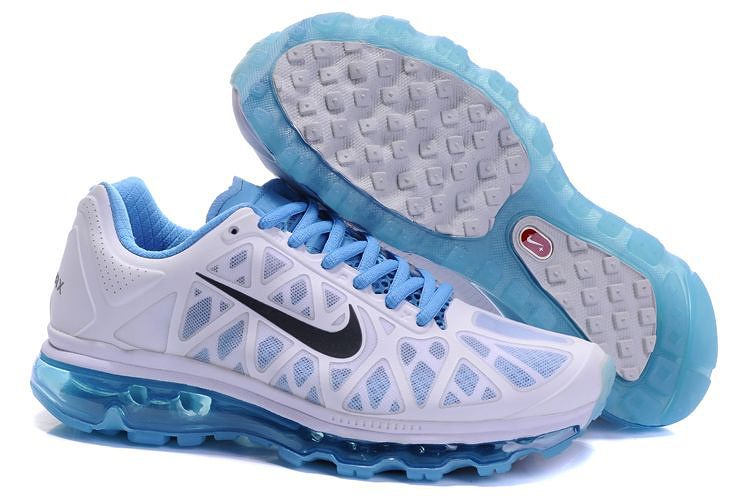 Womens Nike Air Max 2011 Trainers Blue/Grey