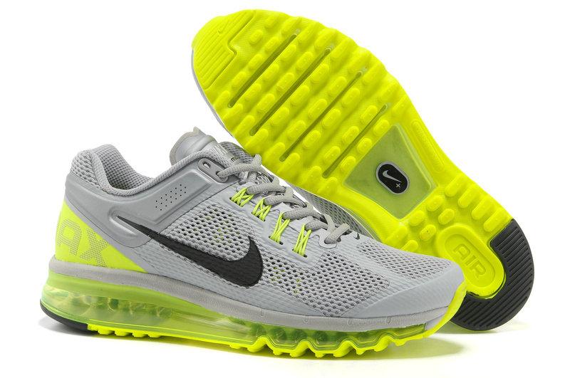 Mens Nike Air Max 2013 Trainers Grey