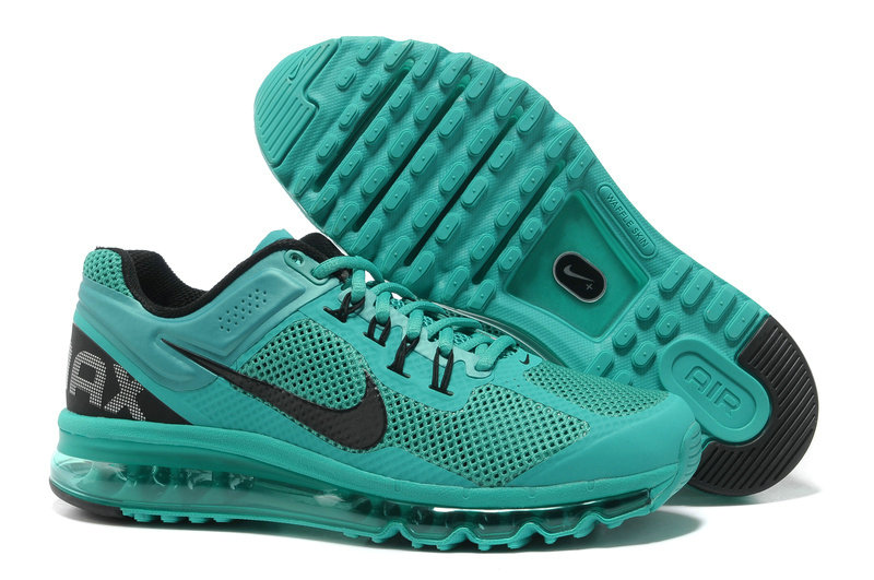 Mens Nike Air Max 2013 Trainers Atomic Green