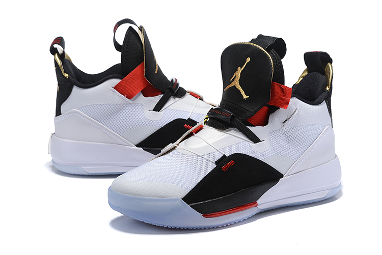 New 2019 Jordan Shoes 33 Black White Red Shoes