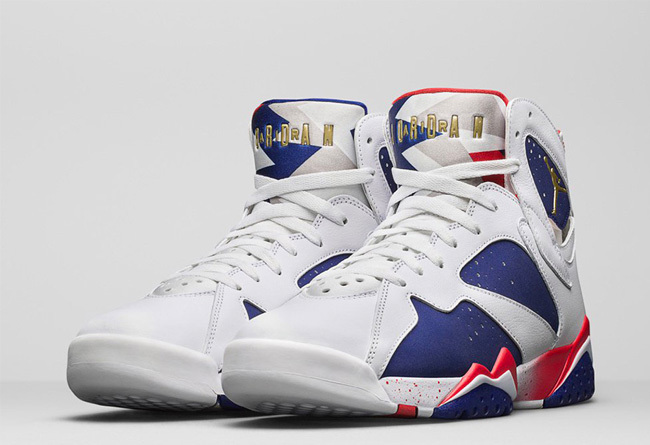 New Air Jordan 7 Retro Olympic Alternate Shoes