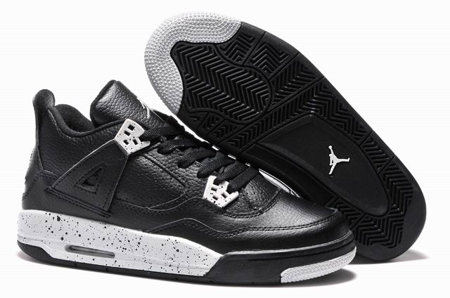 New Girls Cheap Air Jordan 4 Oreo for sale 2015