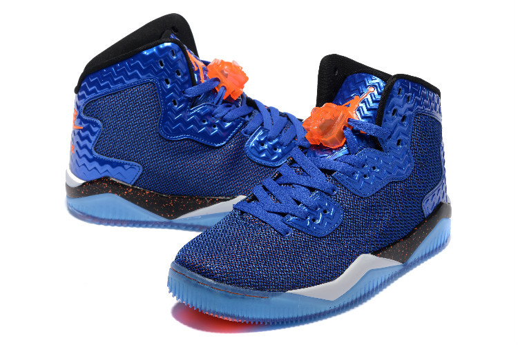Jordan Spizike 2 Blue Orange Shoes