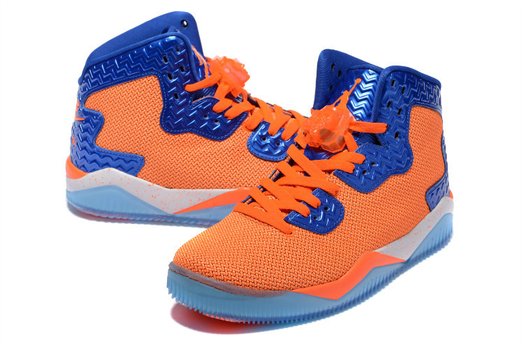 Jordan Spizike 2 Orange Blue Shoes