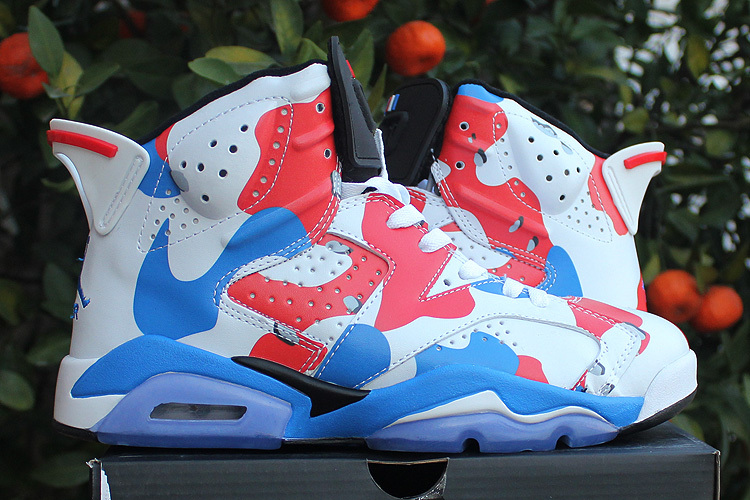 Newest Air Jordan 6 American Heroes Custom 2015