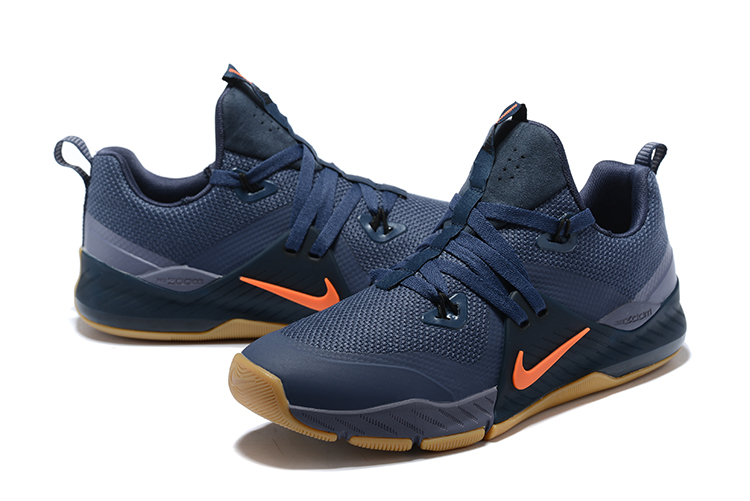 Nike 2018 zoom 2 Deep Blue Orange Shoes