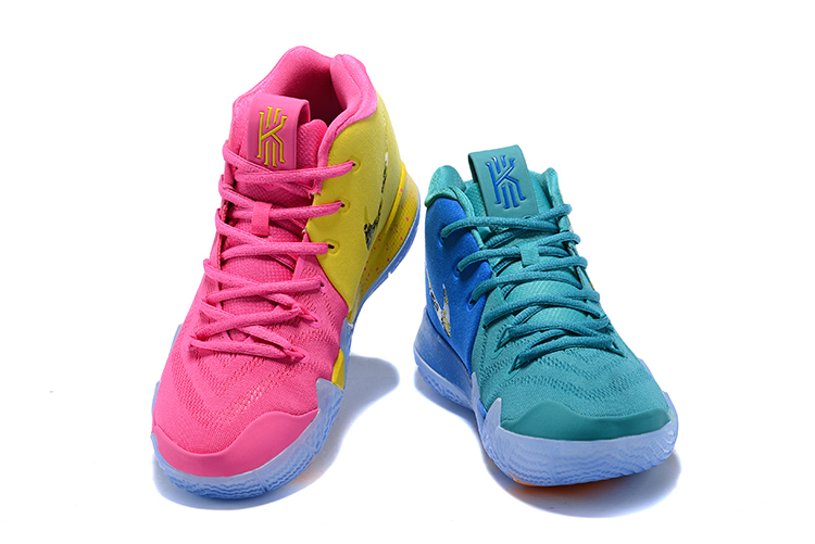 Nike Kyrie 4 Madarick Duck Pink Blue Shoes For Women
