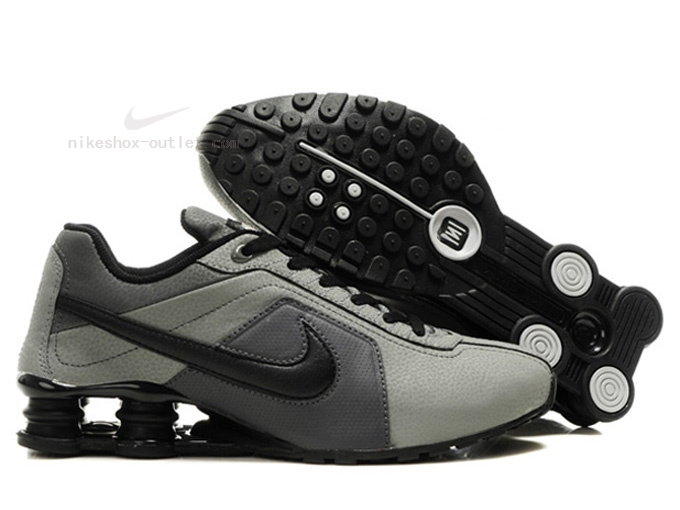 Nike Shox R4 mens new gray black