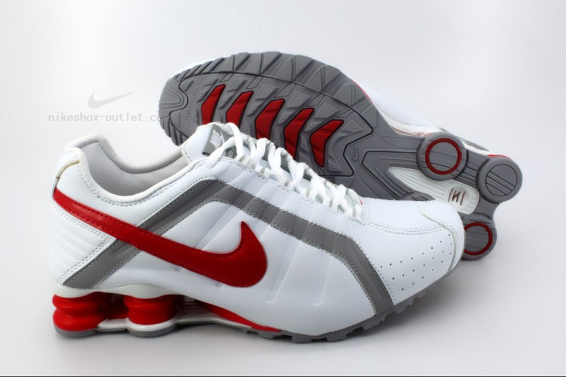 Nike Shox R4 mens new red