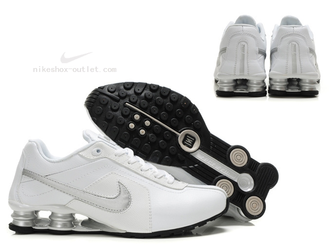 Nike Shox R4 mens new silver white