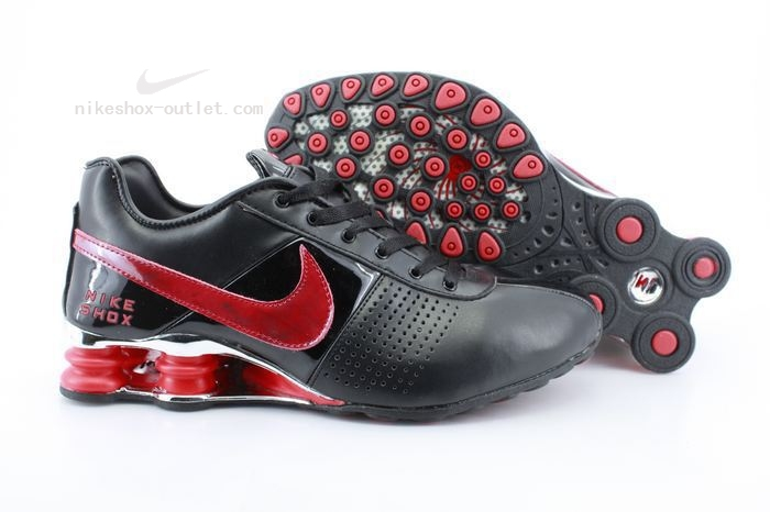 Nike Shox R4 mens red black
