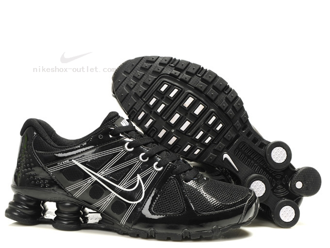 Nike Shox Turbo 2012 men all black