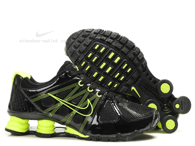 Nike Shox Turbo 2012 men black green