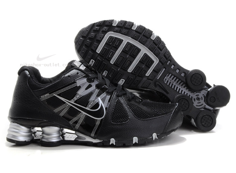 Nike Shox Turbo 2012 men black silver