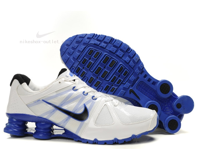 Nike Shox Turbo 2012 men white blue