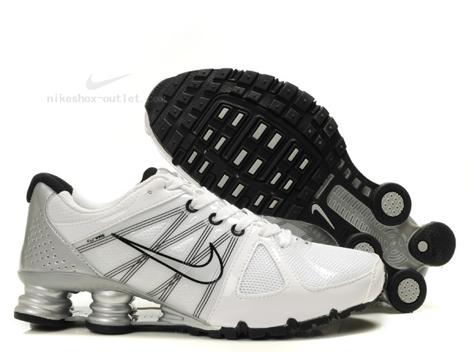Nike Shox Turbo 2012 men white silver