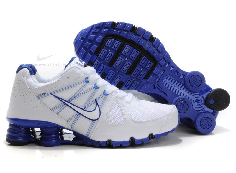 Nike Shox Turbo 2012 white light blue