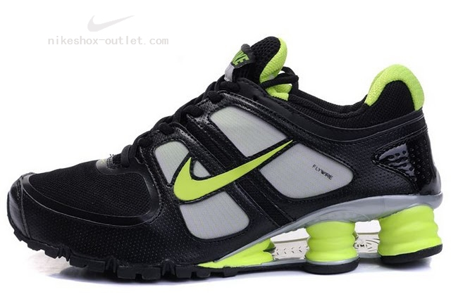 Nike Shox Turbo men black green