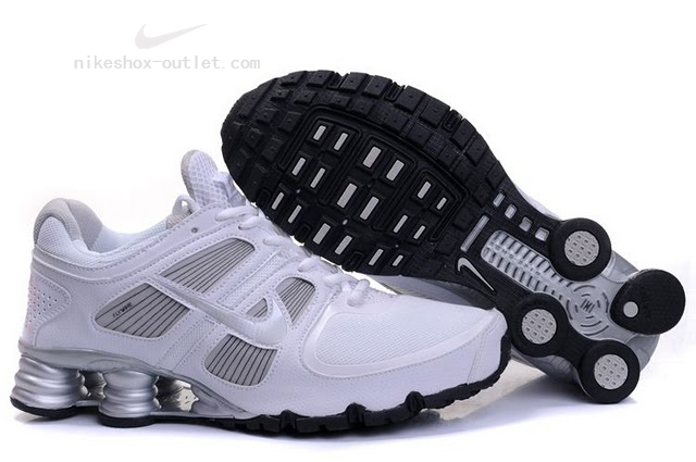 Nike Shox Turbo men white silver