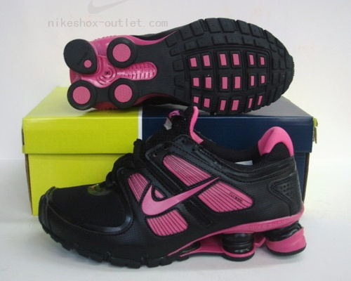 Nike Shox Turbo womens black pink