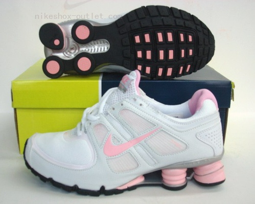 Nike Shox Turbo womens pink white